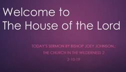 The Church in the Wilderness 2